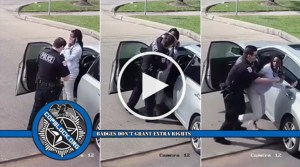 Woman Assaulted By Cop While Calling 911 To Report Traffic Stop