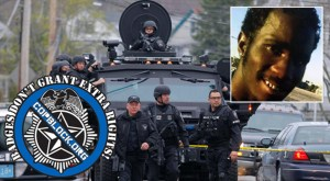 Innocent Man Killed By Cop From Armored Vehicle Gun Turret
