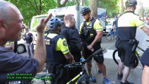 Portland Cops Target and Unlawfully Arrest CopBlocker James Peach