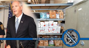 Missing From Police Evidence Room: $408K, 60 Guns, 4700 Bags Of Drugs