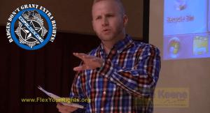 """Flex Your Rights"" Presenter Cites Cop Block As Major Influence"