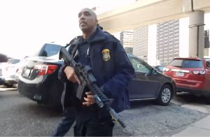 DHS Draws AR-15s on Cop Blockers in Detroit