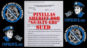 Opposing Candidate's Lawsuit: Pinellas County Sheriff Robert Gualtieri Hiding Incriminating Public Records
