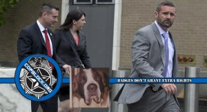 Family Whose Dog Was Murdered by Hartford Police Awarded $202,000; Liens Placed on Cops' Houses