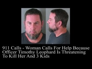Cop Threatens To Kill Woman And Kids – Cops Don't Want To Help (911 Calls)