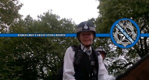 London's Metropolitan Police Harass; Attempt to Take Advantage of Autistic Cameraman