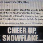David Clarke; Milwaukee Sheriff's Office Pushes Buttons With Recent Facebook Post