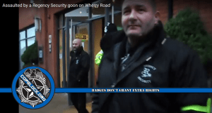 Norfolk England Police Turn A Blind Eye as Security Guard Assaults Man for Filming in Public