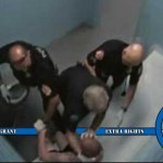 Three Agawam Police Officers Fired for Brutally Beating Man in Holding Cell on Video