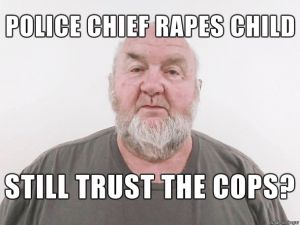 Former Police Chief and Convicted Child Rapist Robert K Chambers Sr.
