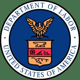 US Department of Labor logo