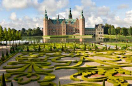 """Frederiksborg Castle and Gardens, Hillerød Denmark."""