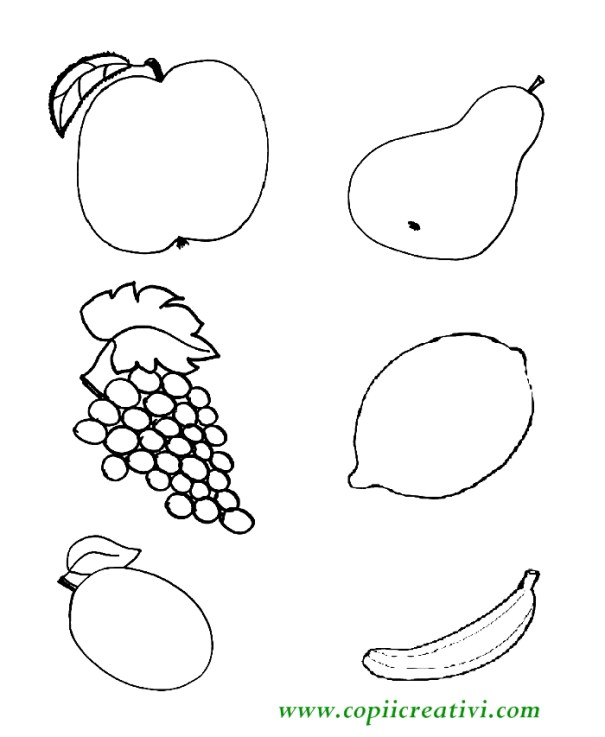 lukas coloreaza fructele