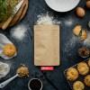 4 oz kraft stand up bag | baking mix packaging