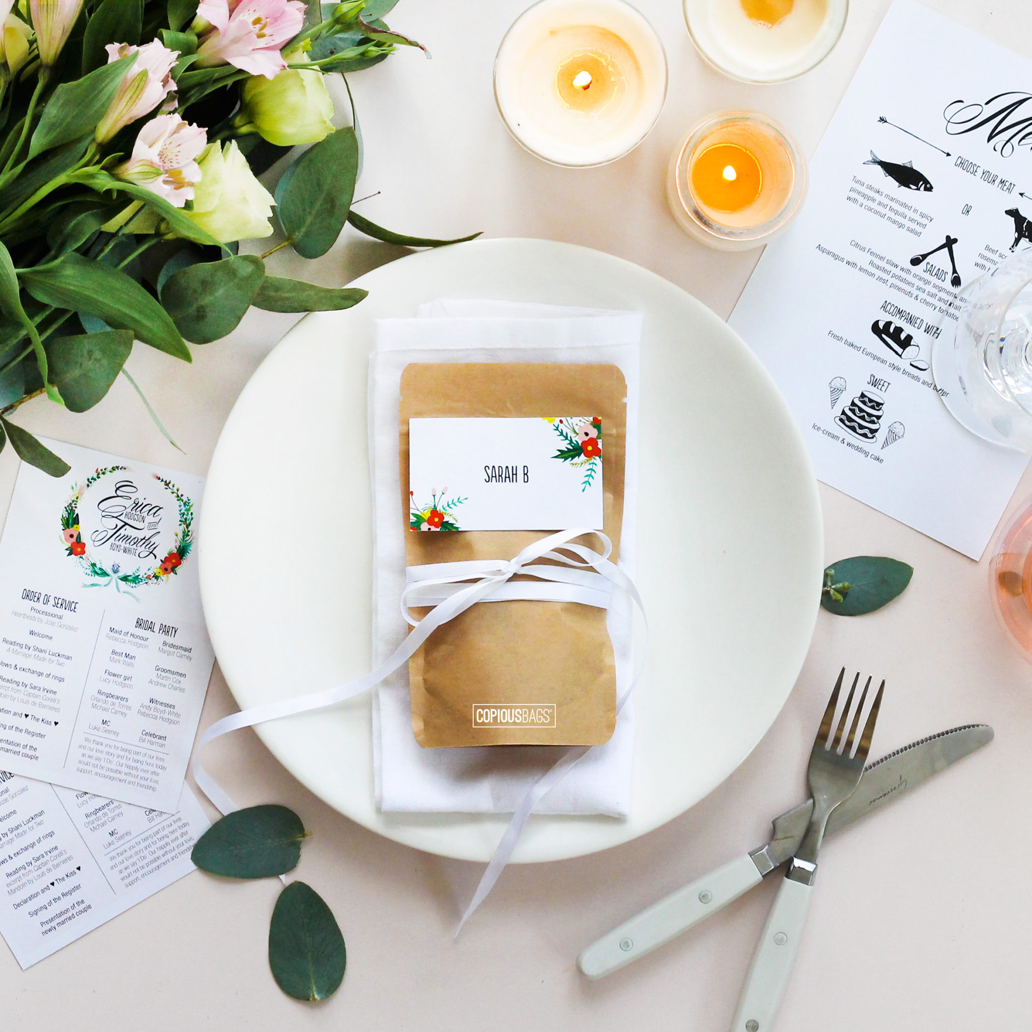 Special Event and Wedding Favor Packaging - Copious Bags®