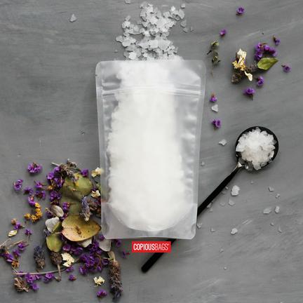 bath salt packaging bags wholesale zip bags
