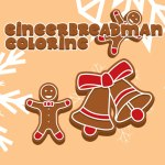 Gingerbread Man Coloring