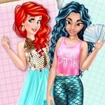 Jasmine and Ariel Wardrobe Swap