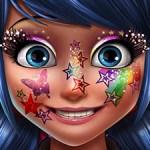 Ladybug Glittery Makeup