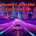 Modern And Old Cars Jigsaw