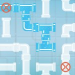 Pipes Flood Puzzle
