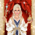 Royal Dress Up Queen Fashion