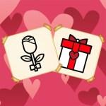 Valentine Present Coloring