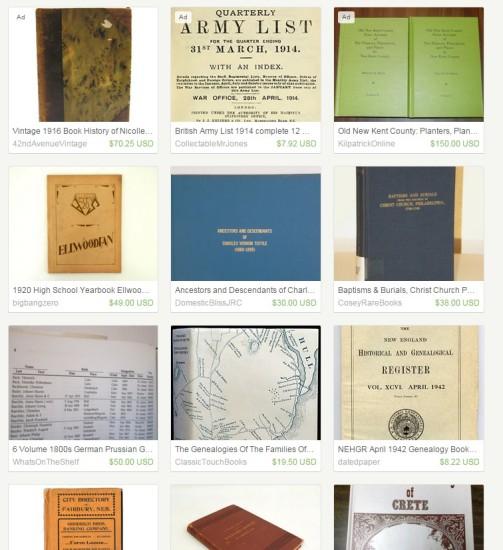 Etsy books