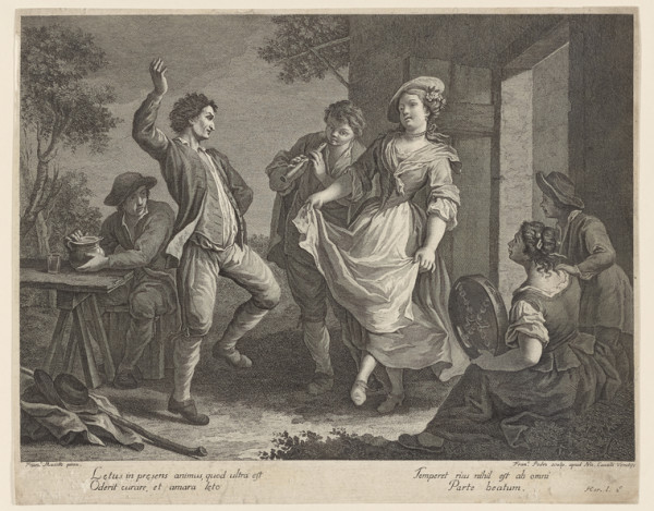 """Peasant Dance"" From The New York Public Library"