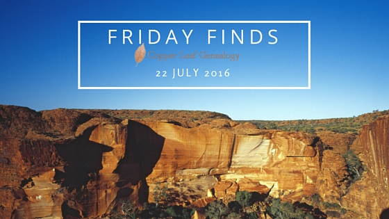 Friday Finds 22 July 2016