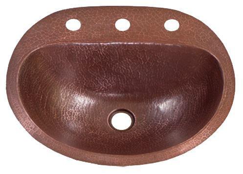 17 durango copper bathroom sink by soluna