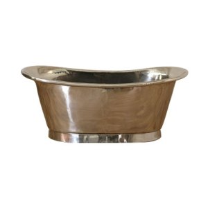 Copper Bathtub Nickel Inside Nickel Outside - Coppersmith Creations