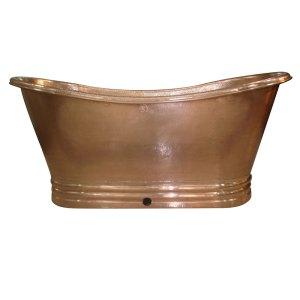 Shiny Copper Bathtub - Coppersmith Creations