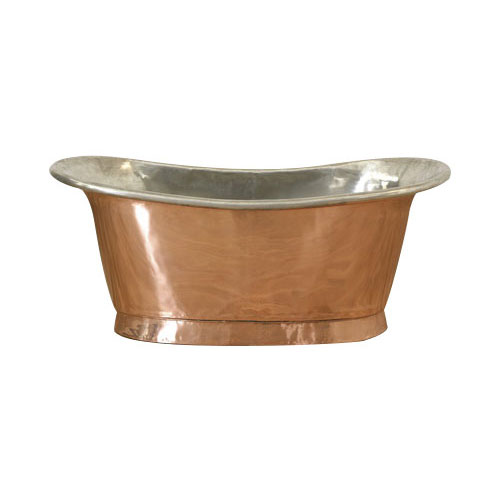 Copper Bathtub Tin Inside Shiny Copper Outside - Coppersmith Creations