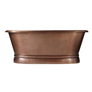 Pedestal Copper Bathtub - Coppersmith Creations