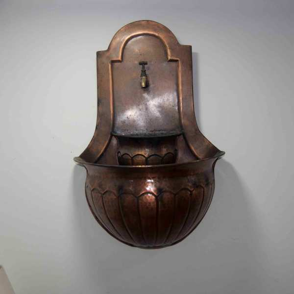 Copper Wall Fountain - Coppersmith Creations