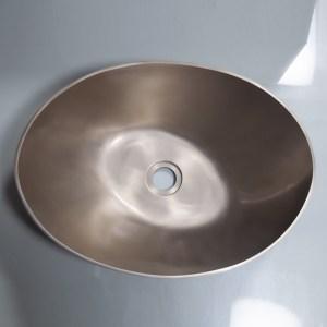 Cast Bronze Sink 18 inch Earthen Lamp Style