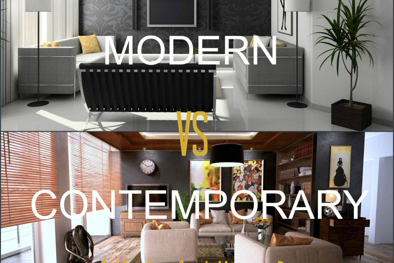 Modern design vs. contemporary design   Copper State Style