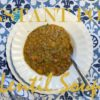The best Instant Pot lentil soup in the world – if I do say so myself