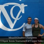 Championship Sunday: Filipek Tennis Tournament