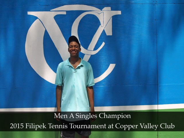 2015 Filipek Tennis Tournament Copper Valley Club Cheshire CT