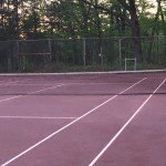 Tennis Courts are Almost Ready for the Season