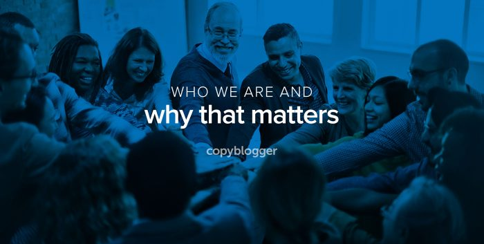 who we are and why that matters