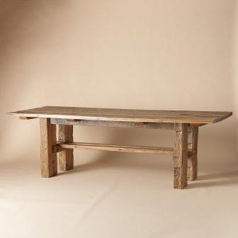 Restoration Hardware Farmhouse Salvaged Wood Table