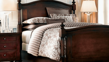 restoration hardware camden arch bed