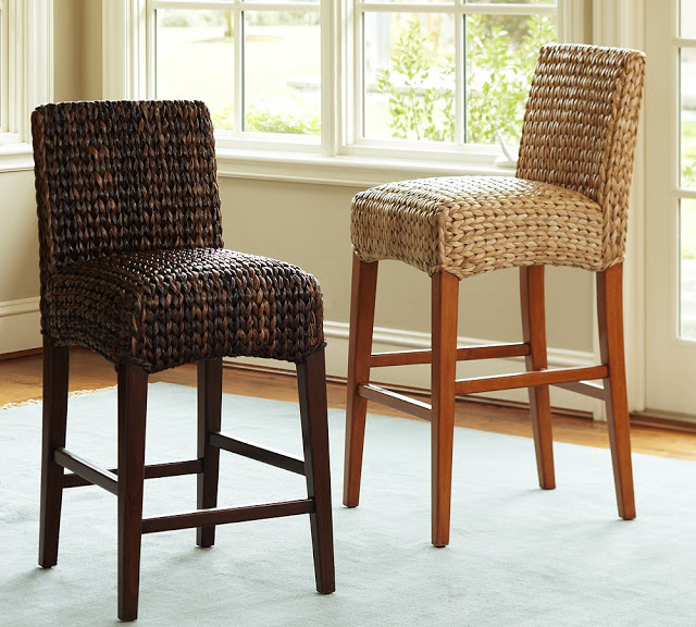 Epic Pottery Barn Seagrass Barstool