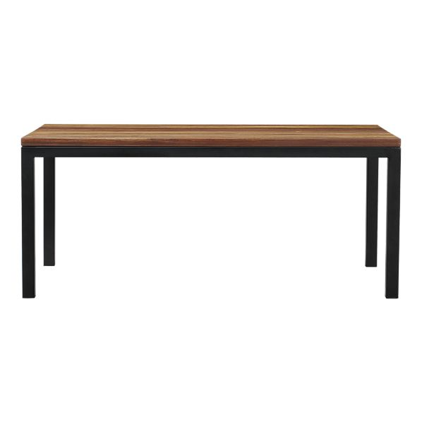 Epic Crate and Barrel Parsons Reclaimed Wood Top Dining Table