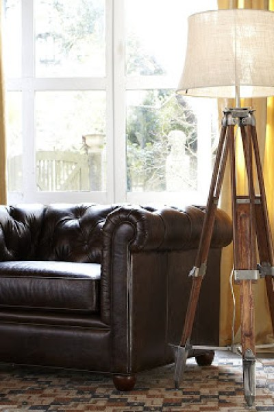 Pottery barn chelsea sectional floor lamp copycatchic pottery barn surveyors floor lamp continued aloadofball Image collections
