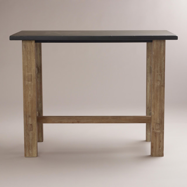 New Crate and Barrel District High Dining Table
