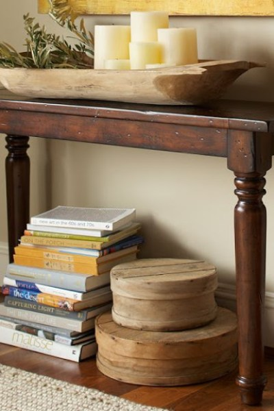 Magnificent Pottery Barn Map Console Table Copycatchic Caraccident5 Cool Chair Designs And Ideas Caraccident5Info